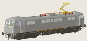 Heljan 8651 BR Class 86 Electric, Blue, Lion & Wheel Emblem, Small Yellow End [NOT YET RELEASED]